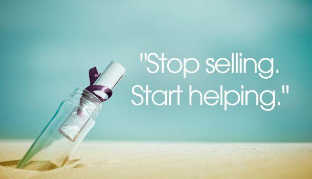 Stop Selling Start Helping Ziglar Quotes