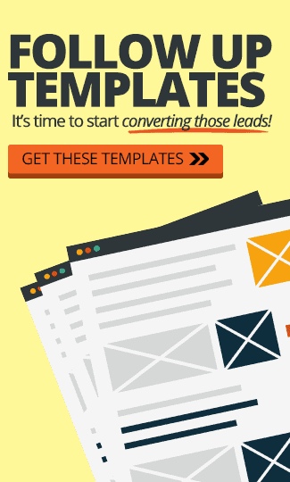 FREE Lead Follow-up Templates