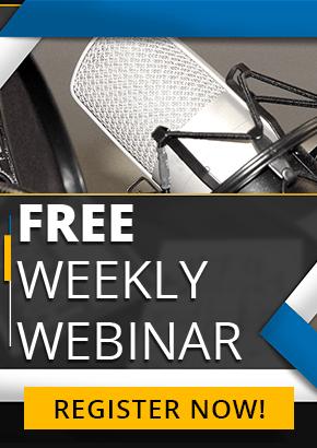 FREE Weekly Webinar