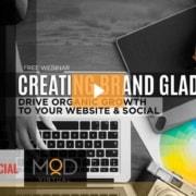 free webinar creating brand gladiators drive organic growth to your website & social