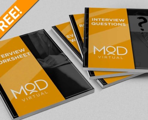 free! interview worksheet and questions booklets