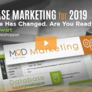 webinar database marketing for 2019 the game has changed, are you ready? with dan steward happygrasshopper and myoutdesk