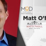 myoutdesk testimonial matt o'neill real estate