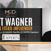 matt wagner top real estate influencer august 2 radio and television experts myoutdesk webinar