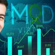 myoutdesk real estate virtual assistant next an ascending bar chart