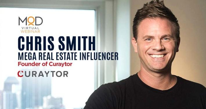 myoutdesk webinar with chris smith mega real estate influencer founder of curaytor