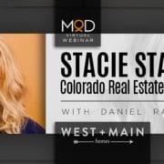 myoutdesk webinar with stacie staub colorado real estate superstar west + main logo
