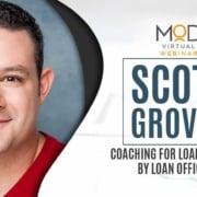 Scott groves coaching for loan officers by loan officers with myoutdesk webinar