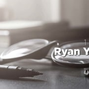 a set of glasses and a marker with myoutdesk and ryan yardley