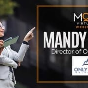 two business people looking up optimistically mandy cowin director of operations at only epic holdings