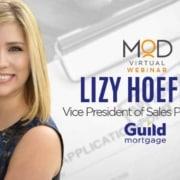 lizy hoeffer vice president of sales productivity guild mortgage webinar with myoutdesk