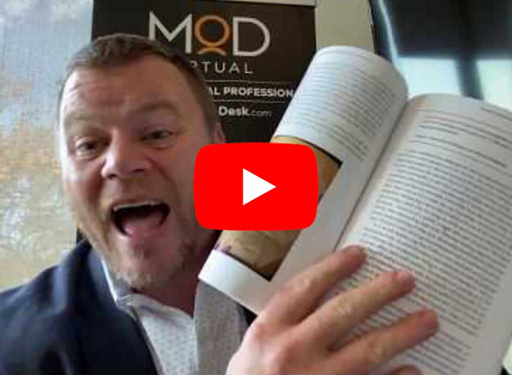 youtube thumbnail of daniel ramsey holding his book