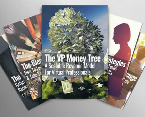 5 books on a table the vp money tree a scalable revenue model for virtual professionals with myoutdesk