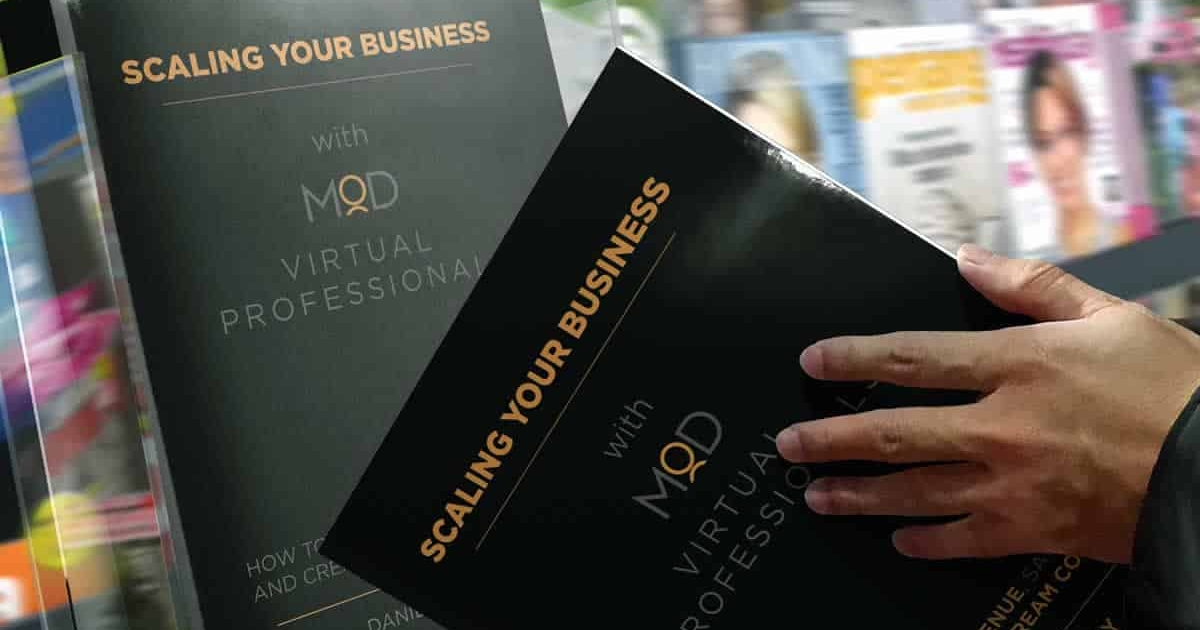 #1 International Best Seller: Scaling Your Business With MOD Virtual Professionals