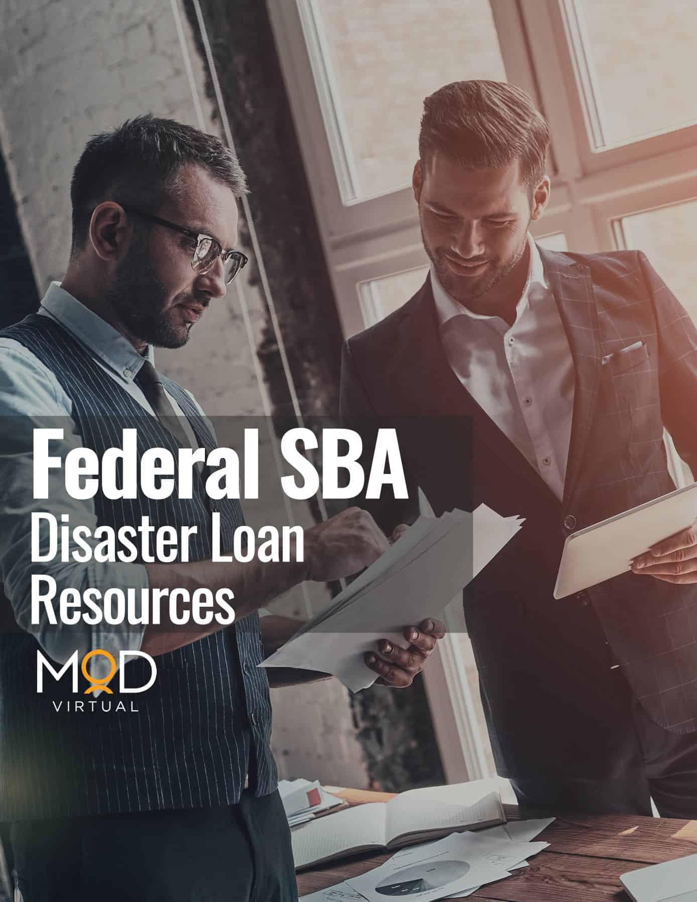 federal SBA disaster loan resources myoutdesk