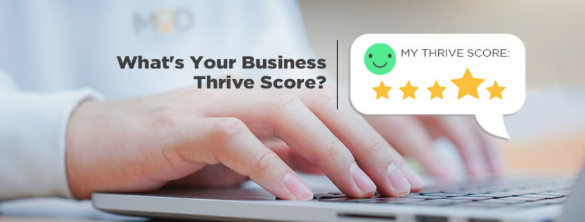 whats your business thrive score?