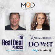 the real deal podcast with daniel ramsey vicky schettini do wit whatever it takes