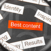 words best content focused through magnifying glass