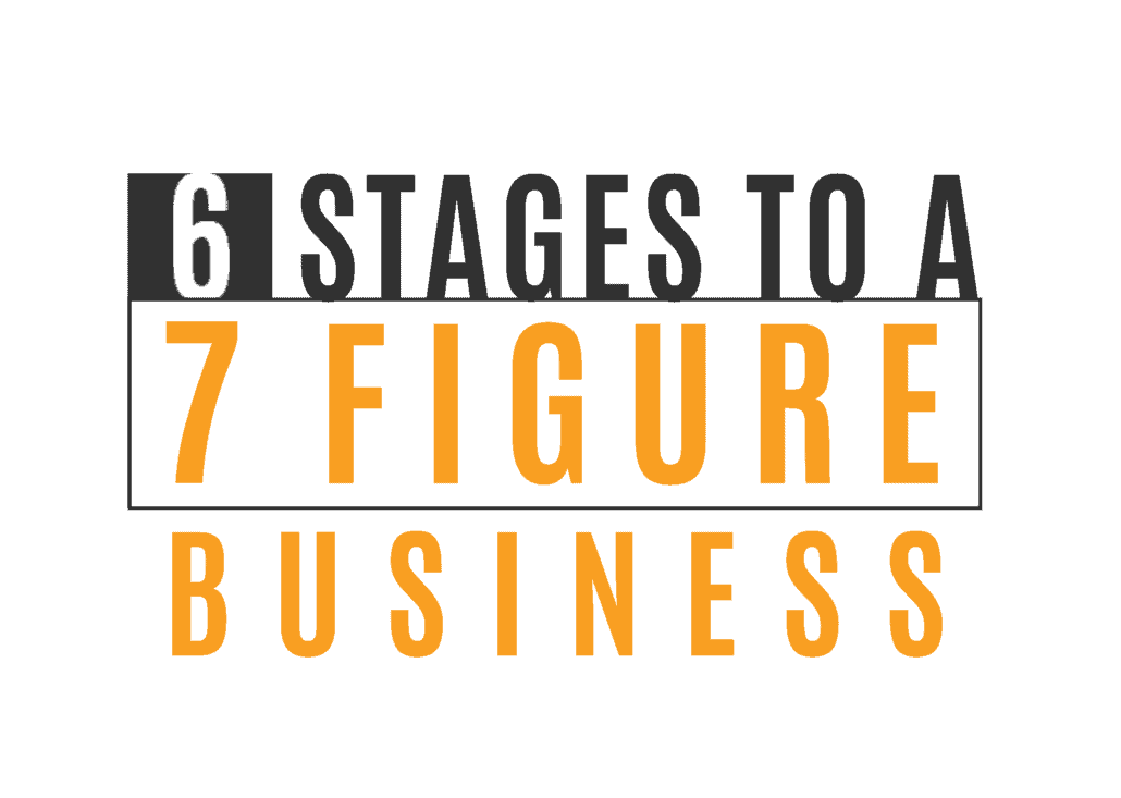 6 stages to a 7 figure business