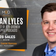 logan lyles the b2b show podcast with myoutdesk