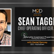 portrait of sean tagge chief operating officer at memphis investment properties and myoutdesk
