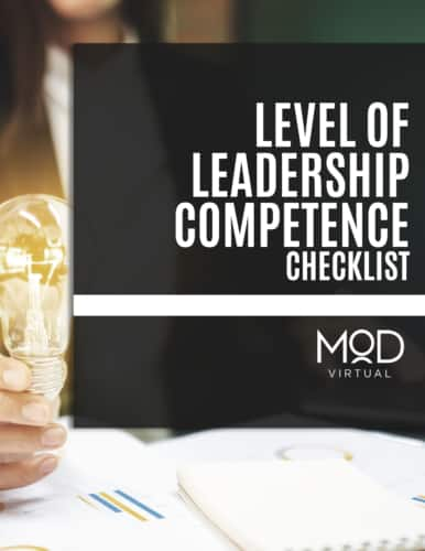 level of leadership competence checklist