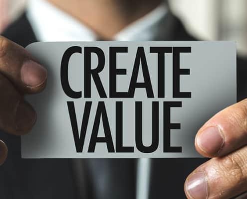 create value on a tag