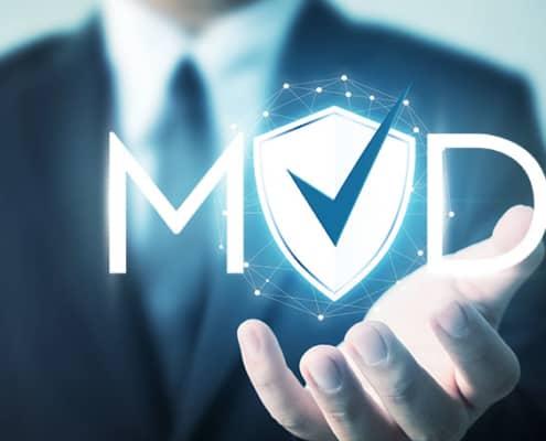 myoutdesk logo with a checkmark