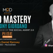 a myoutdesk webinar with video mastery by tony giordano bestselling author o the social agent 2.0