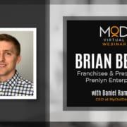 brian beers headshot franchisee & president at prenlyn enterprises with daniel ramsey
