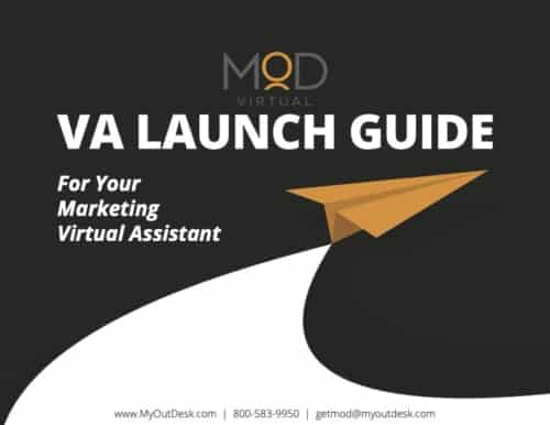 VA launch guide for your marketing virtual assistant