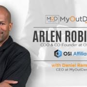 arlen robinson coo & co-founder at OSI affiliate myoutdesk webinar with daniel ramsey ceo at myoutdesk