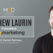 Mathew Laurin President of esq.marketing headshot of mathew laurin