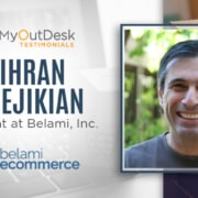 myoutdesk testimonials mihran berejikian president at Belami, inc belami ecommerce