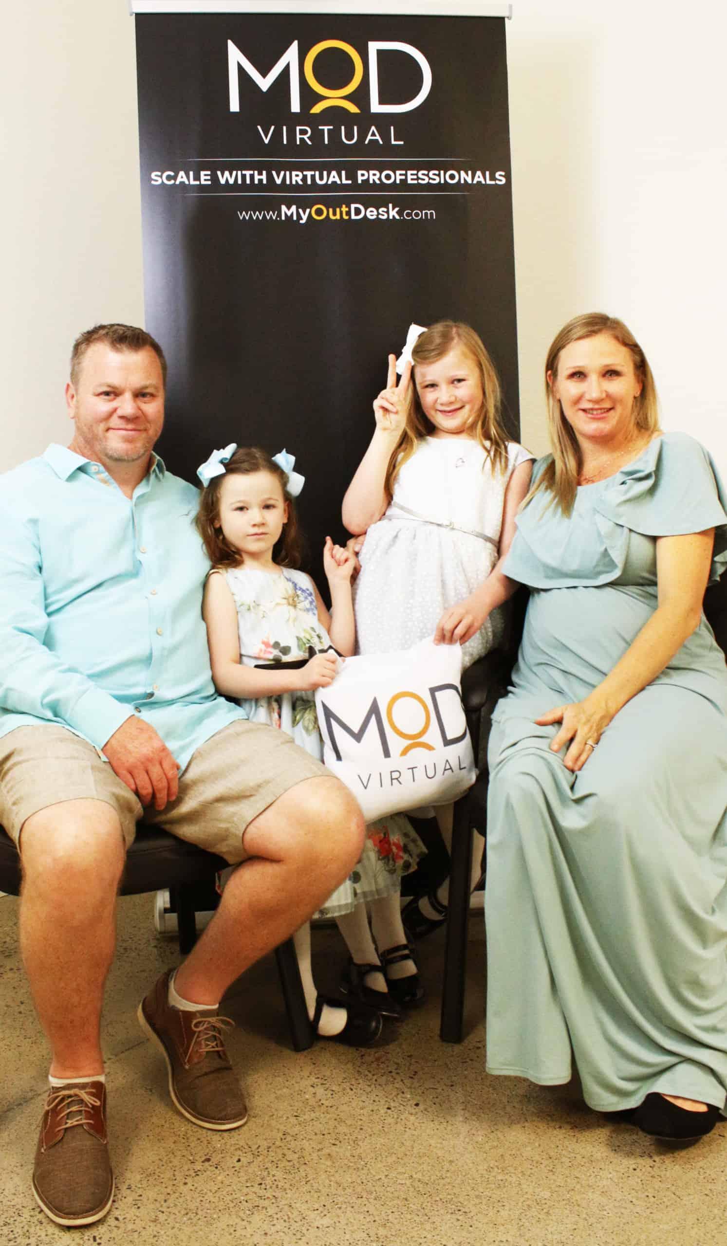 daniel ramsey family portrait