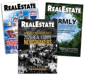 RISMedia real estate magazine covers 2020
