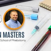 Texas School of Phlebotomy Daren Masters Banner Image