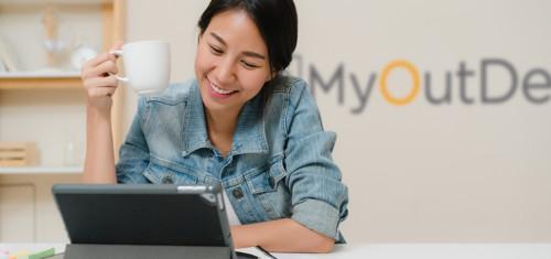 Happy MyOutDesk Virtual Assistant
